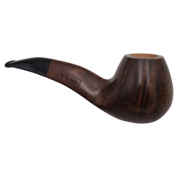 GERMANUS Pipe Premium With Silverring, Bent