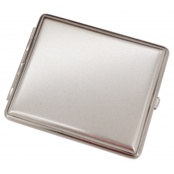 Cigarette Case - Made in Germany - Engravable Nickel Plated matte