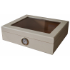 2nd Choice: Mensalla Cigar Humidor for ca. 30 Cigars - White