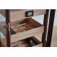 "GERMANUS ""Vemis"" Cigar Humidor Cabinet with Digital Hygrometer for ca 500 cigars"