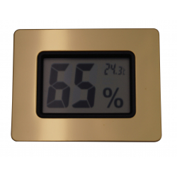 Digital Humidor Hygrometer - calibratable calibration adjust