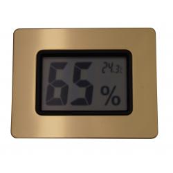 Digital Humidor Hygrometer - calibratable calibration adjust