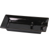 GERMANUS Ceramic Cigar Ashtray with Holder in Black Design
