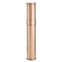 Universal Cigar Case Tube, Metal, Rosegold