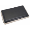 GERMANUS Business Card Case - Hand Made in Germany, Leather Black, Large