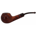 GERMANUS Tobacco Pipe 09G, Rhodesian Bent - Made in Italy