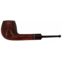 GERMANUS Tobacco Pipe Apple, Straigth - Made in Italy