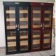 Cigar Humidor Double Cabinet with GERMANUS Humidifier und GERMANUS Digital hygrometer