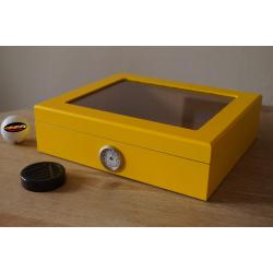 Mensalla Cigar Humidor - Yellow