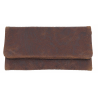 GERMANUS Tobacco Pouch - Cosarara - Made in EU - Ethnic Brown 2