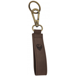 GERMANUS Key Ring Holder - Bull brown