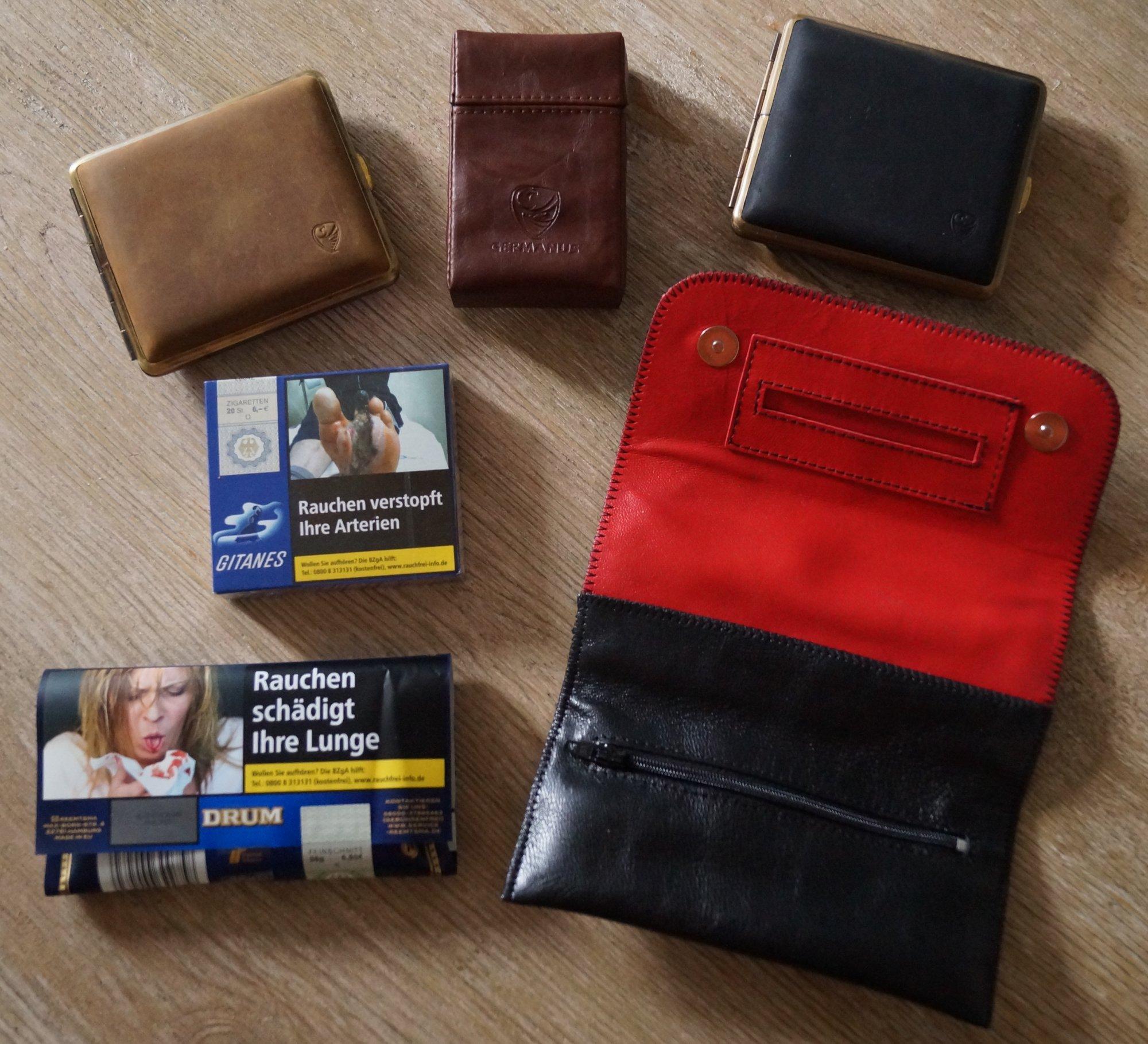 zigarettenetui zigarettencase tabaktasche schockbilder schockphotos