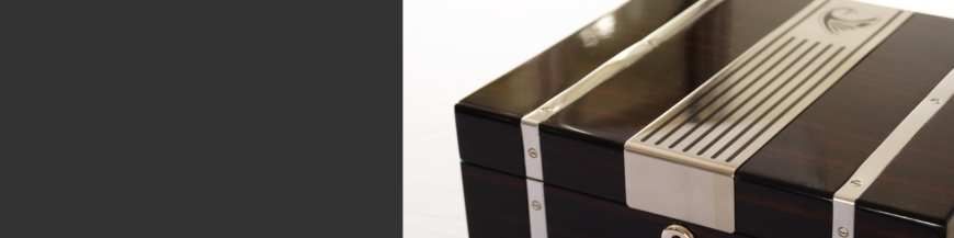 Cigar Humidors for storage of your cigars. We're manufacturer with our own product lines.